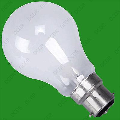 12x 60W 110V BC Pearl GLS Light Bulb Construction Site Festoon Bayonet B22 Lamps