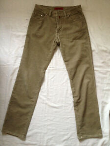 low priced amazing price outlet boutique Details about PIERRE CARDIN JEANS CORDUROY PANTS DEAUVILLE STRAIGHT REG 32  x 34