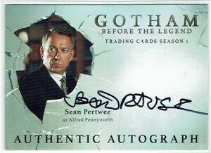 Gotham Season 1 2016 Autograph Card SP Sean Pertwee as Alfred Pennyworth