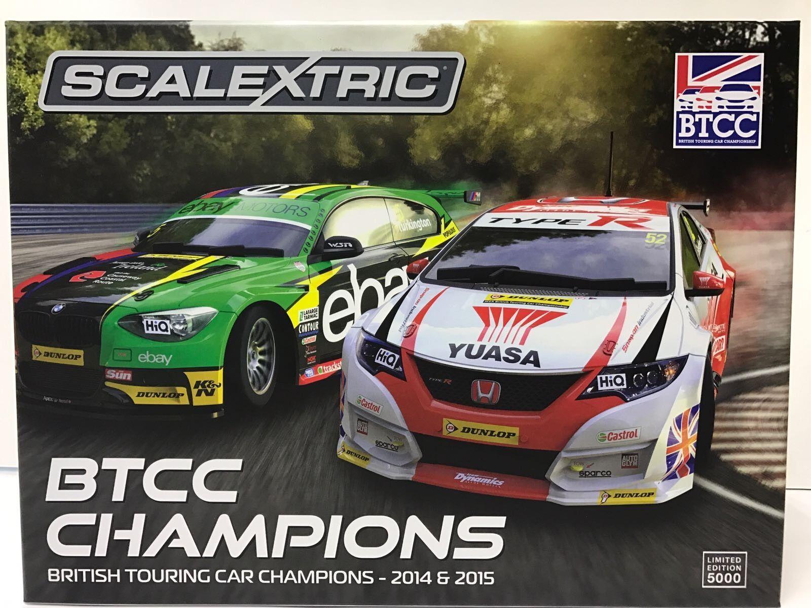 Scalextric C3694A, BTCC Campeones Twin Pack-BMW Pack-BMW Pack-BMW 125 Series 1 & Honda Civic a0b53a