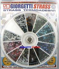 STRASS MISTI Ruota 1728pz SS6 2mm 11 Colori hotfix adesivi unghie adesivi
