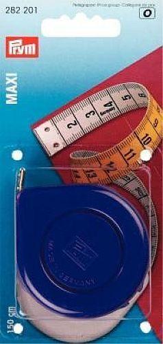 Prym Rollbandmaß Maxi 150cm Maßband Bandmaß 282201