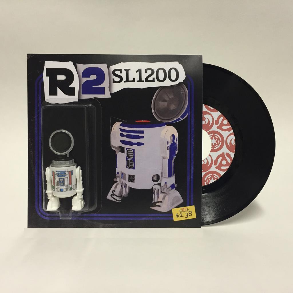 R2-SL1200 Résine Art Figure  par artbot 138 nouveau York Comic détenu 2016 nouveau YORK COMIC détenu  nouveau style