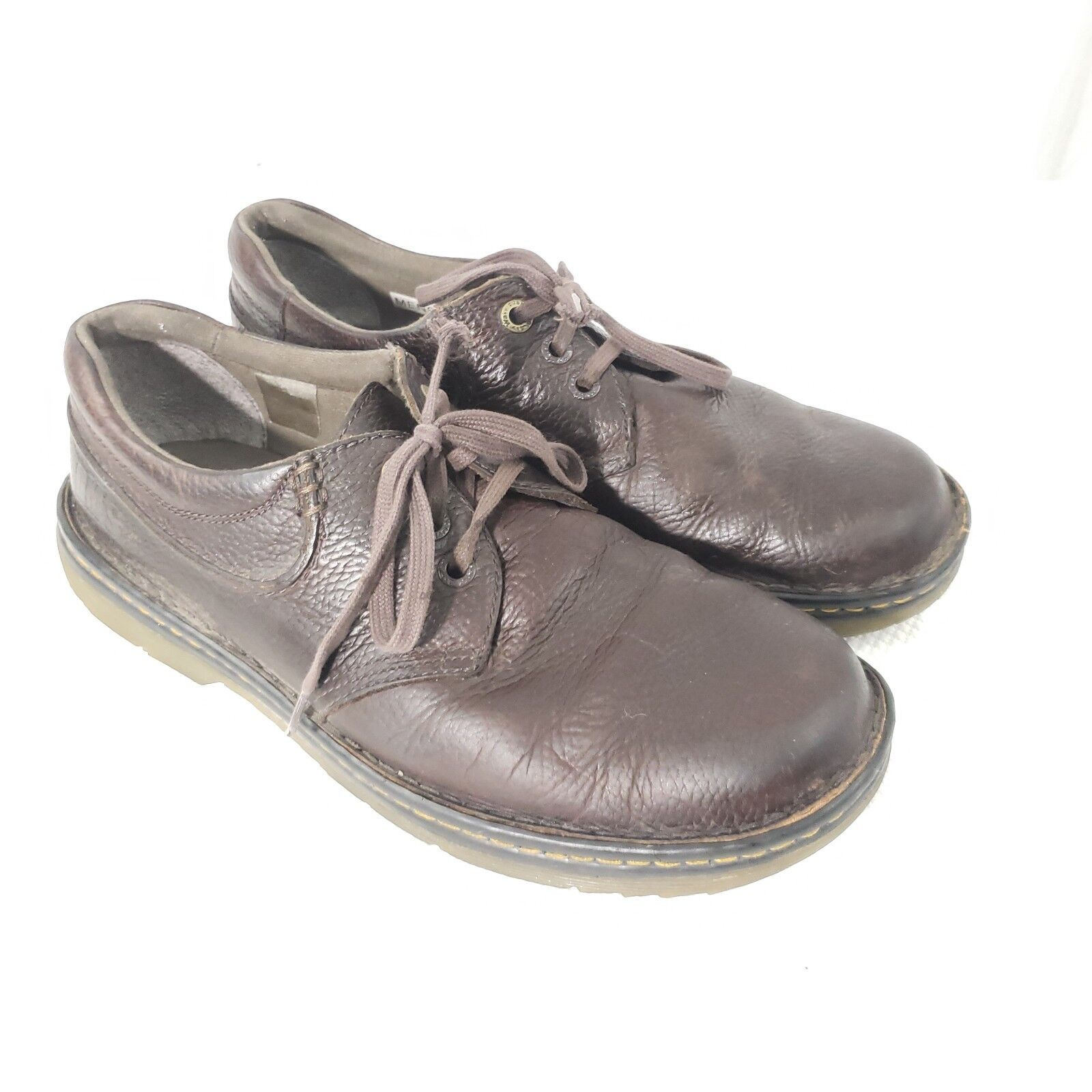 Dr Martens Men's US 11 Hampshire Casual Oxford Work Shoes Brown Industrial