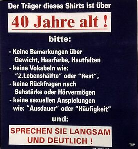 T-Shirt-Rahmenlos-Spruch-034-Traeger-des-Shirts-40-034-Groesse-2XL-Baumwolle-Kurzarm