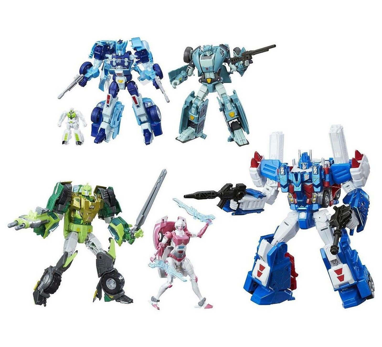 Transformers AUTOBOT HEROES Ultra Magnus Springer Arcee Sergeant Kup bluerr Gift