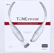 Original LG TONE INFINIM HBS-900 Bluetooth Stereo Headset - Silver
