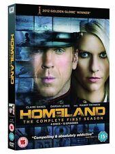 HOMELAND SERIES ONE 1 DAMIAN LEWIS CLAIRE DANES 4 DISC BOXSET UK REG 2 DVD L NEW