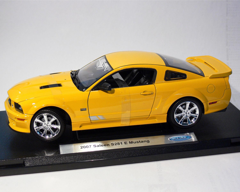 Mustang S281 E, Saleen 2007 , Welly 1 18