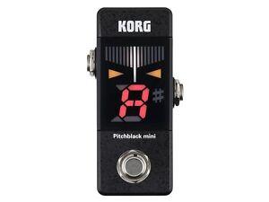 Korg Pitchblack Mini PB01-Mini Guitar Pedal Tuner!