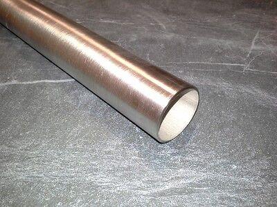 Edelstahl Rundrohr Ø 42,4 mm x 2mm Rohr K240 Edelstahlrohr Geländerrohr V2A