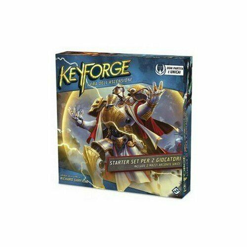 Keyforge  L'Era Dell'Ascension, Starter Set for 2 Players, Italian Edition