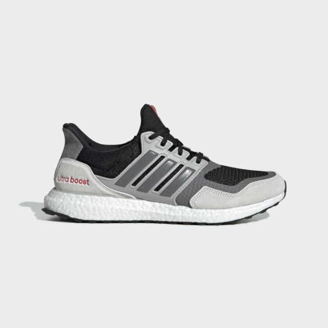 Adidas Ultra boost S&L BlackGreyShock Red Mens Running Shoes EF0720 MULTIPLE