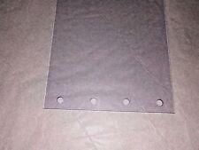 Plastic Door Strip Perforated 8 Wide X 9 Ft 3 Yds X 80mil