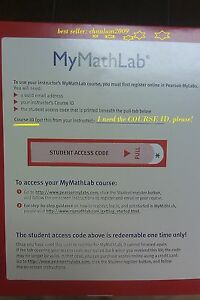 MYMATHLAB-CODE-ONLY-Please-Read-Description-Code-Only-Message-me-On-Ebay