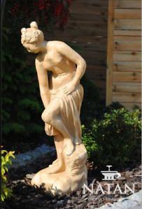 Römische Figur Skulptur Statue Deko Garten Figuren Statuen Skulpturen Stein 90cm