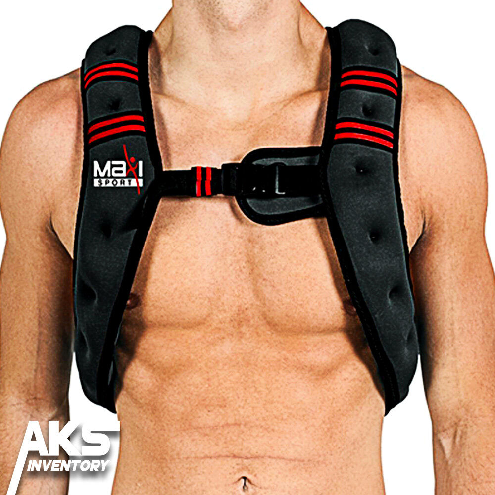 Weighted Vest Home Gym Fitness Equipment  Abs Toning Total Body Strength Workout  lowest prices