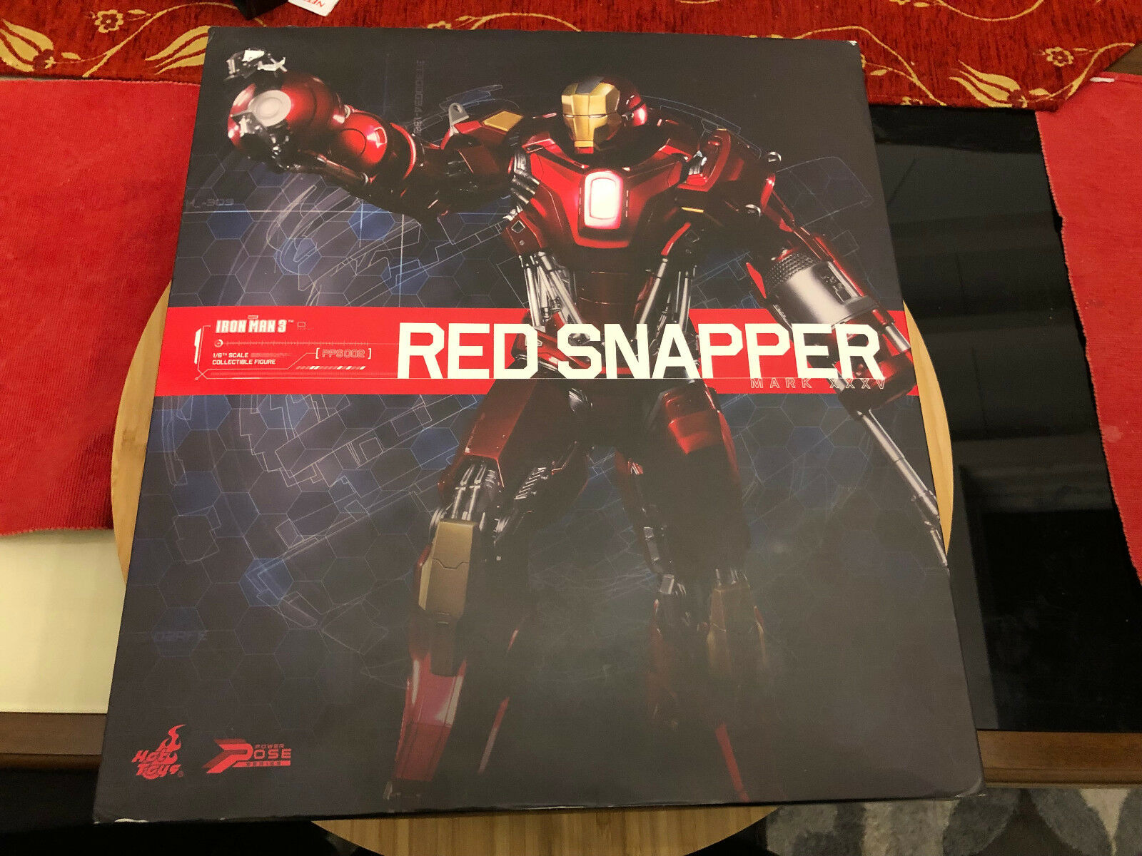 Iron Man rosso Snapper Movie Masterpiece Series Hot Toys