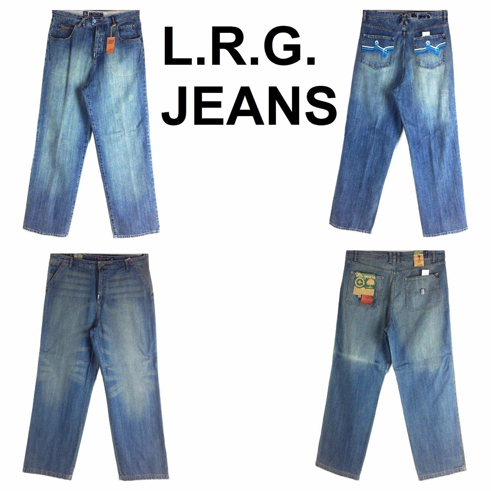 L.R.G. JEAN ASSORTED STYLE, OLD SCHOOL BAGGY, MEN'S LONG DENIM JEANS,