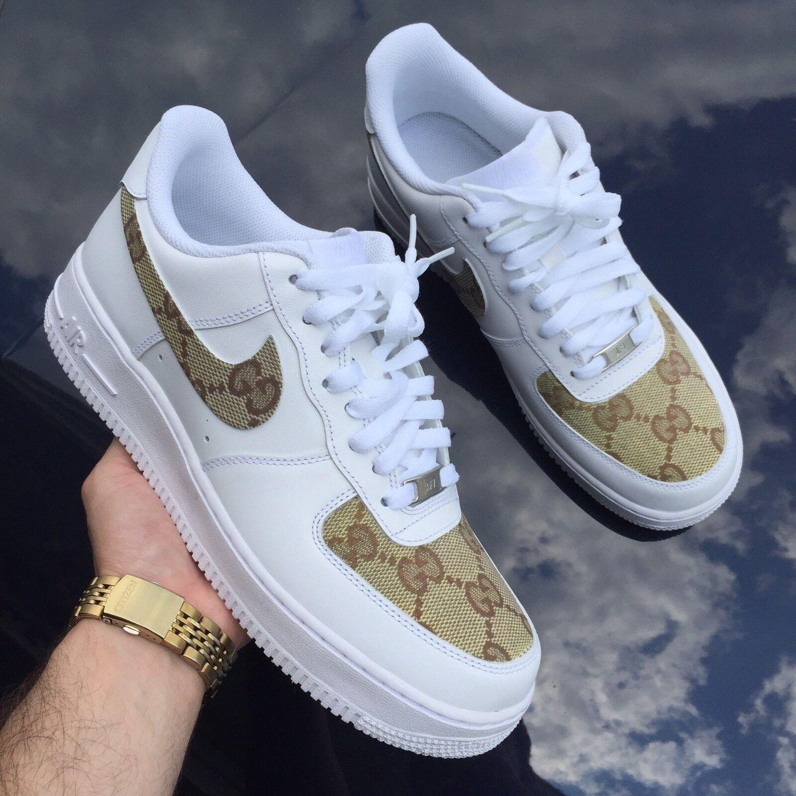 Nike Air Force 1 Usanza Ultimo Paio 5Y   Libera Usa La Spedizione!  10 + Anno Venditore