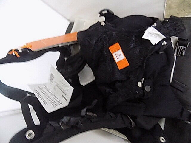 Stokke Mycarrier Cool 3 In 1 Baby Carrier Black