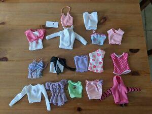 Barbie Mattel Clothing Bundle Tops Ebay