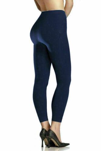 Femme Femmes Jambières Thermiques Épais Polaire Hiver Chaud Gym Noir Tailles UK 6-16