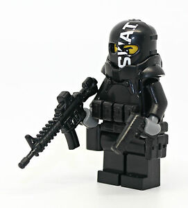 Swat-Police-Armored-Assaulter-Officer-Minifigure-made-with-real-LEGO-R-parts