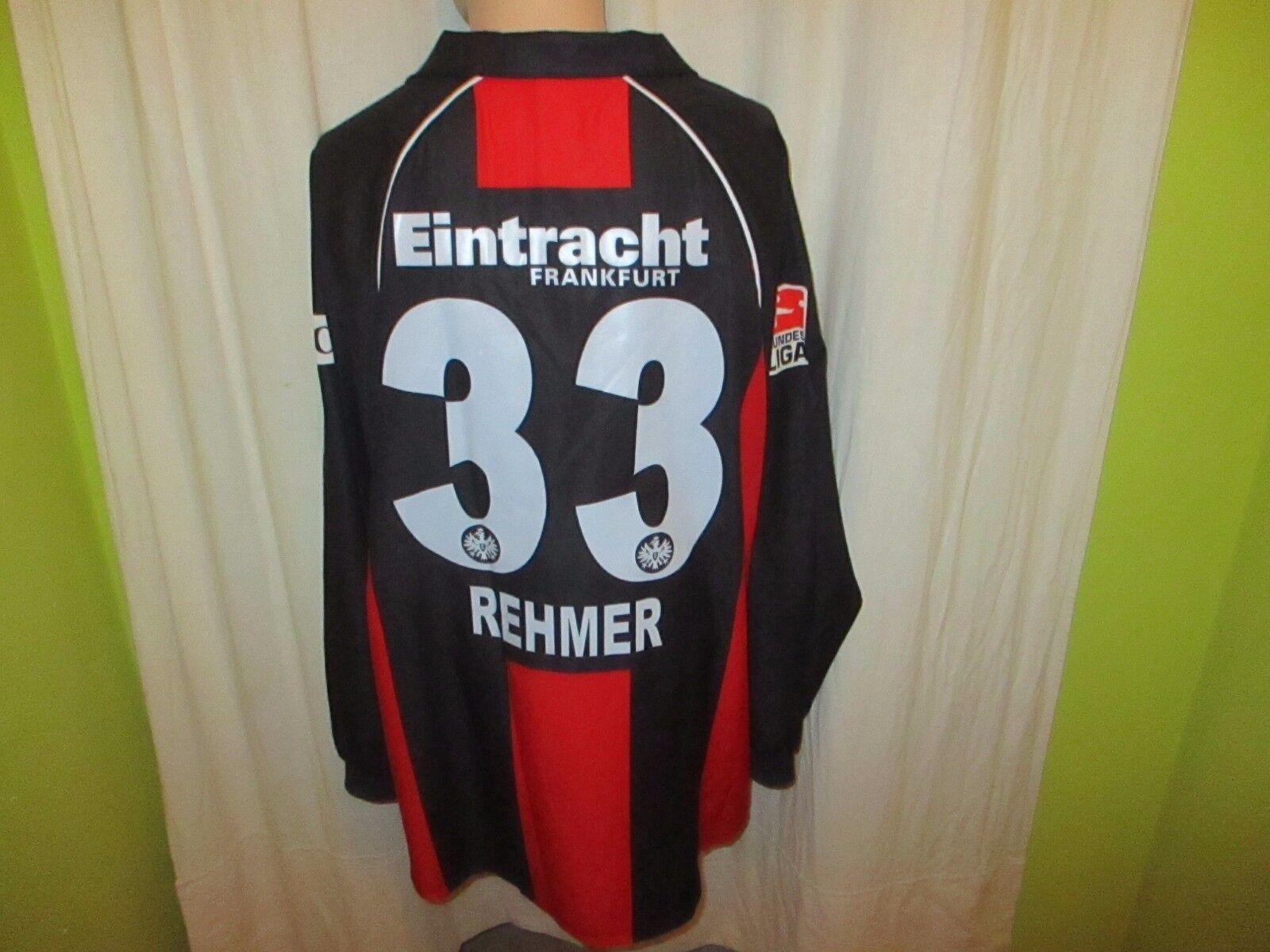 Eintracht Frankfurt Jako Langarm Matchworn + Trikot 2006/07 + Matchworn Nr.33 Rehmer Gr.XL ad1d0f