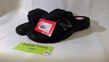 NWT -New Balance Men's PLUSH 20 Slide Sandals Black SIZE 8 - FREE SHIPPING