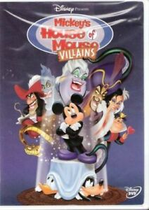 Brand-New-WS-DVD-Mickey-039-s-House-of-Villains-Wayne-Allwine-Tony-Anselmo-Jeff-Be
