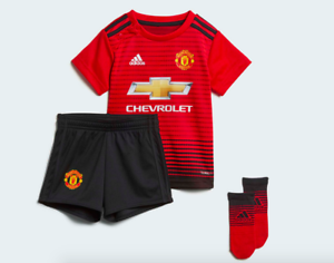 7e4d7d7e8 Image is loading Adidas-Manchester-United-FC-2018-19-Home-Kit-
