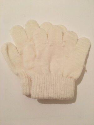 Di Larghe Vedute Guanti Magic Gloves Bambino Bambina Inverno Neve Color Crema Come Da Foto Beneficiale Per Lo Sperma