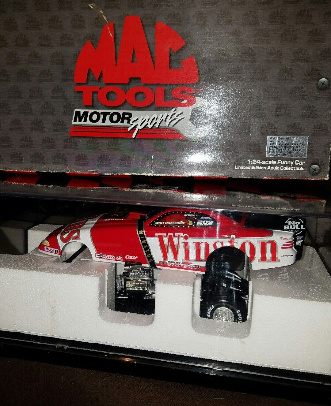 1998 Mustang Winston Funny Car 1 24 scale