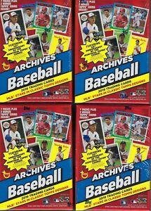 4-2019-Topps-ARCHIVES-Baseball-MLB-Baseball-Cards-7-1-BonusPack-BLASTER-Bx-LOT