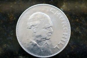 5 shilling coin 1965 churchill