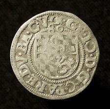 Gft. Pfalz-Veldenz, 1/2 Batzen 1580 CK, Saurma 2034, R!