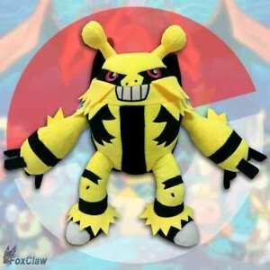 Pokémon Elevoltek Electivire PLUSH PELUCHE ~ 30cm NUOVO di alta qualità de MAGAZZINO