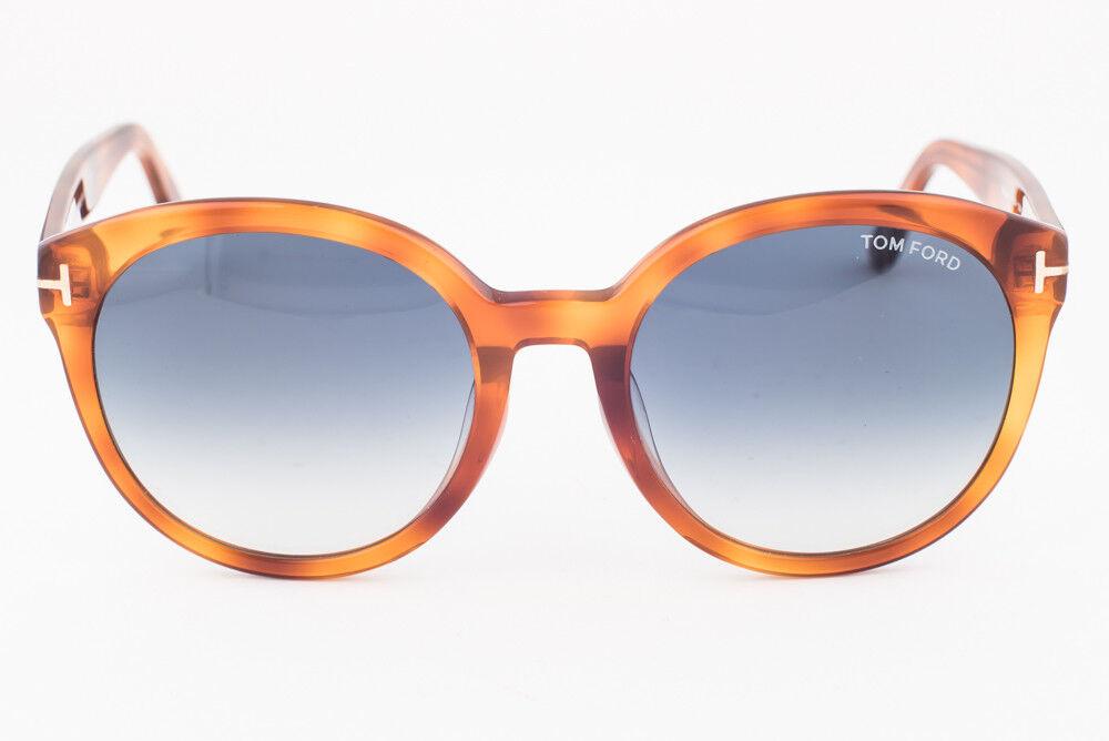081f61a34ed9e Tom Ford Philippa Blonde   Blue Gradient Sunglasses Tf503 53w for ...
