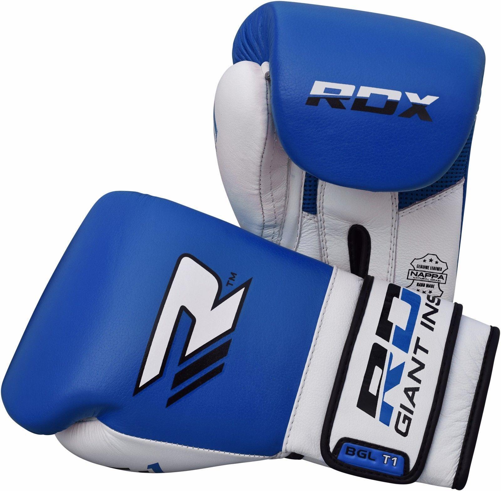 RDX Boxen Handschuhe Leder MMA Martial Tasche Kunst Kampf Stanzen Tasche Martial Sparring SW e2477e