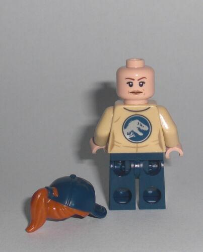 Park Mitarbeiter LEGO Jurassic World Minifig Figur Worker Dino Nublar 75934