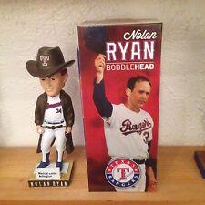 2013 Texas Rangers Nolan Ryan Duster Bobblehead SGA