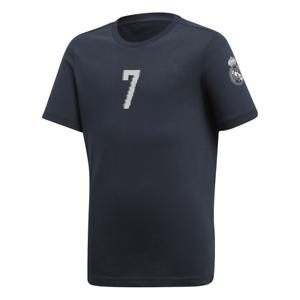 811014447f379 Adidas pour Enfants Garçon T-Shirt Football Real Madrid Graphique ...