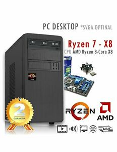 PC-AMD-Ryzen-7-X8-3700x-Eight-Core-Ram-8GB-SSD-480GB-PC-Assemblato-Desktop