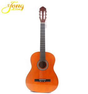 high quality 39 basswood classical guitar 6 strings students beginner guitar ebay. Black Bedroom Furniture Sets. Home Design Ideas