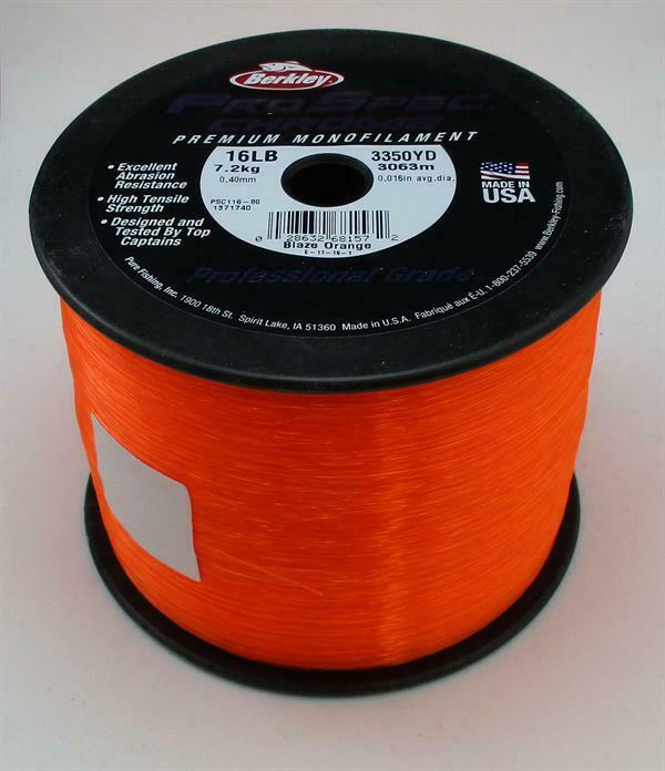Berkley 1371740 Ps116-bo Prospec Cromo Line 16 Lbtest orange 3063m 22179