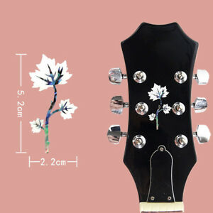 1x-Inlay-Sticker-Headstock-Decal-for-Guitar-Bass-Ukulele-Accessory-2