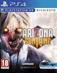 Arizona Sunshine (VR)   PS4