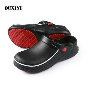 EVA-Non-slip-Waterproof-Oil-proof-Kitchen-Work-Shoes-Hotel-Slippers-Flat-Sandals