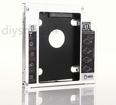 New 2nd HDD Hard Drive Caddy Adapter for Dell Inspiron 1440 1545 1564 1750 1764